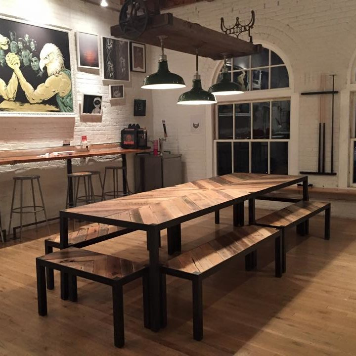 Ohana Pallet Table And Benches